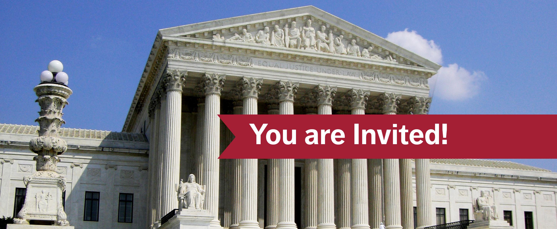 Supreme Court Invitation