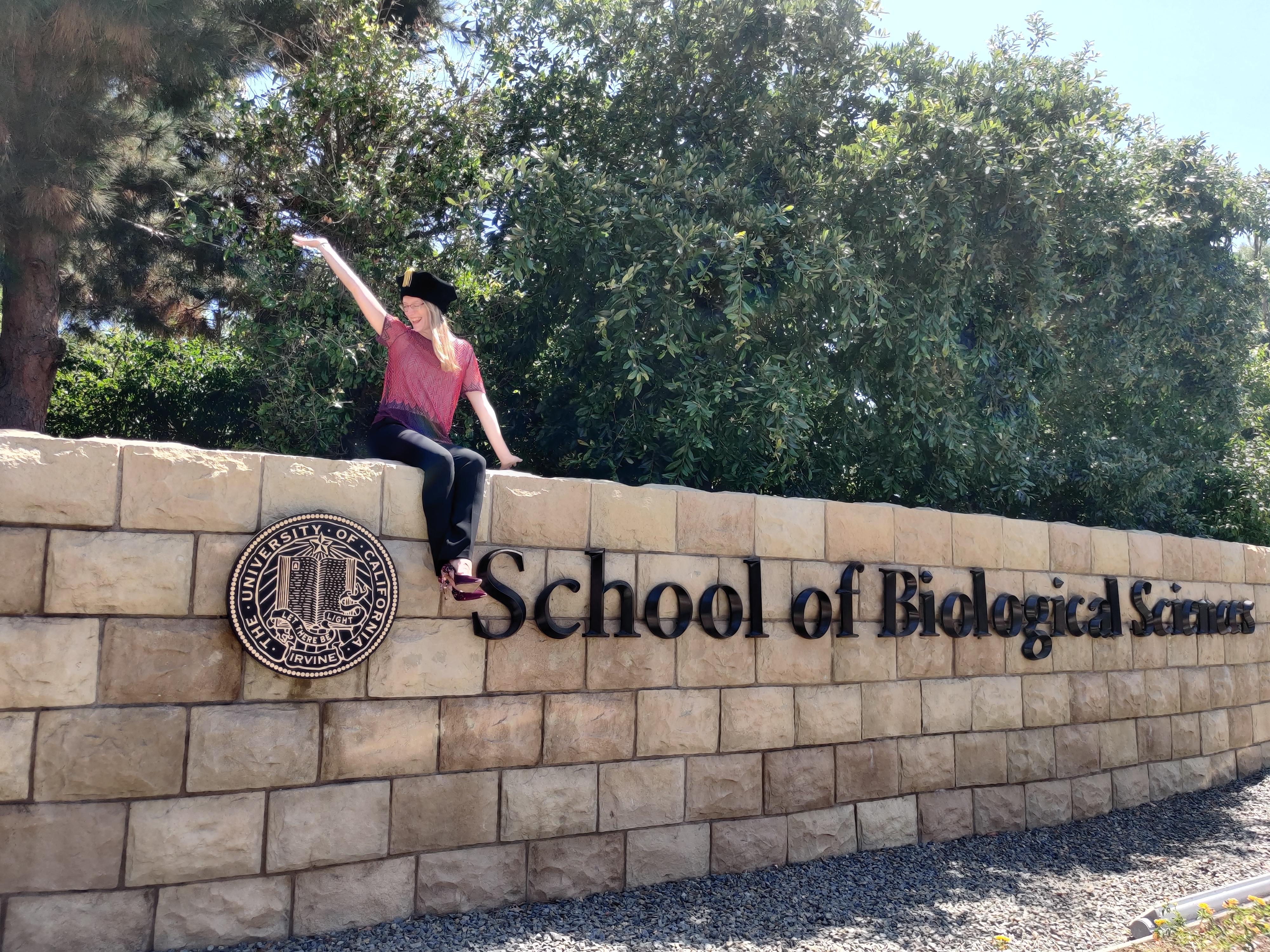 ARCS Scholar Amanda McQuade UC Irvine