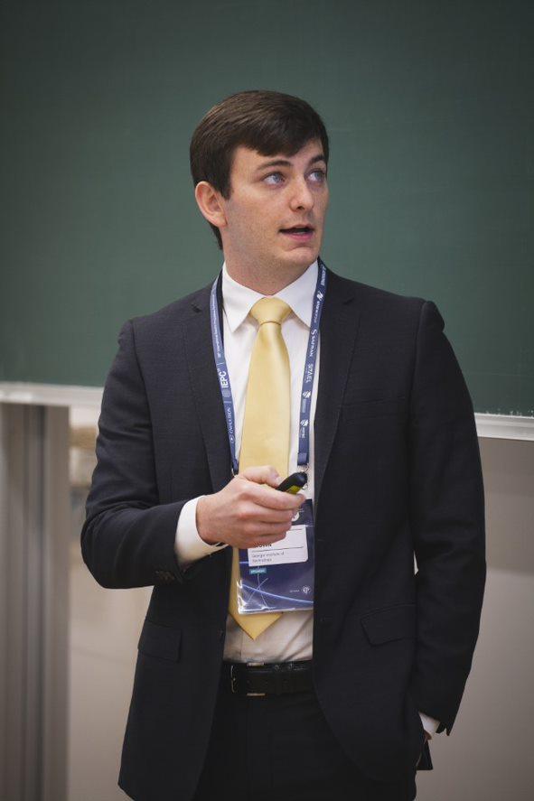 ARCS Scholar Nathan Brown Atlanta Chapter
