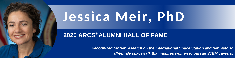Jessica Meir Receives ARCS Alumni Hall of Fame Award