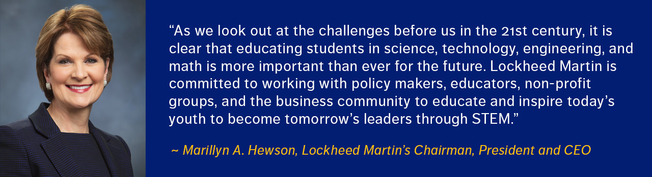 Marillyn Hewson Quote