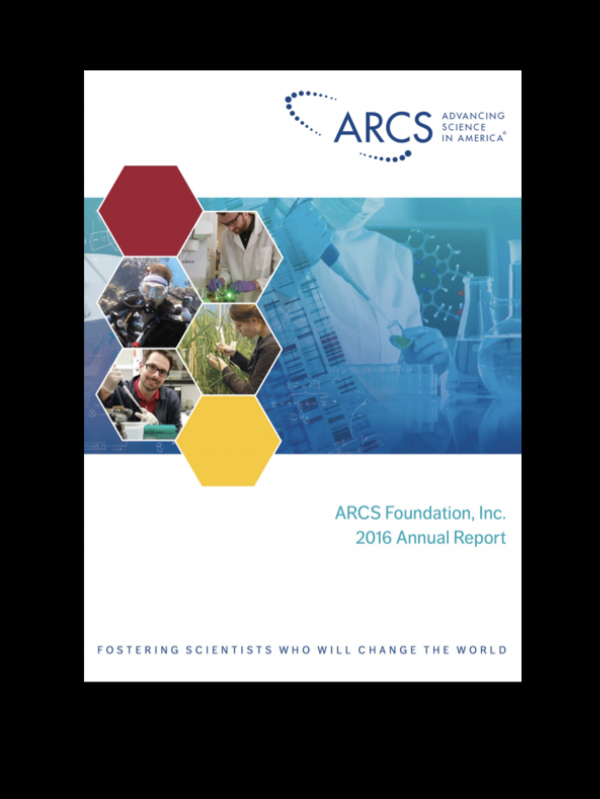 Annual Report and Financials | ARCS Foundation