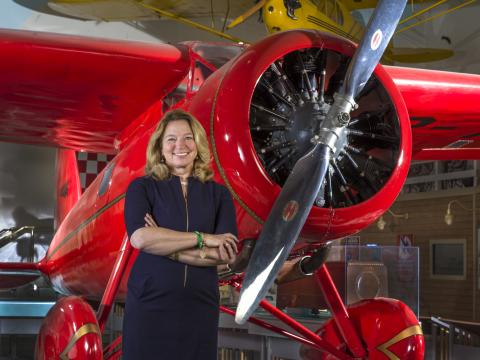 Dr. Ellen Stofan Director of Smithsonian National Air and Space Museum